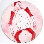 Rondo Hampelmann rot weiß