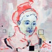 Frauenporträt mit roter Mütze